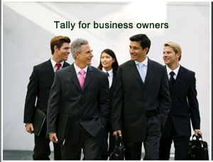 tally for Business owners